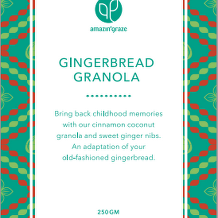 Gingerbread Granola (250g)