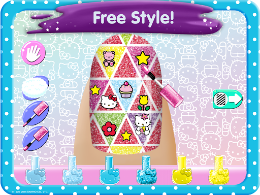 Hello Kitty Nail Salon screenshot 12