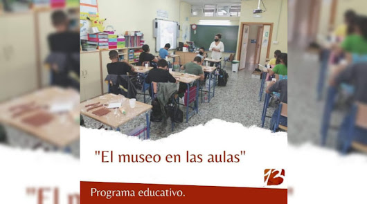 """El  Museo de Almería """"viaja"""" a los centros educativos de la provincia"""