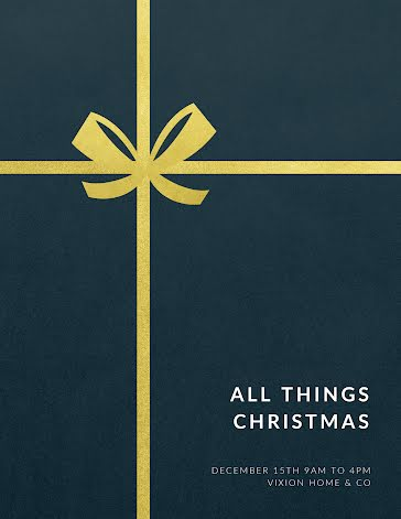 All Things Christmas - Christmas Template