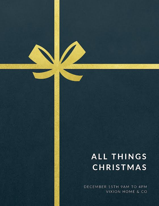 All Things Christmas - Christmas Template