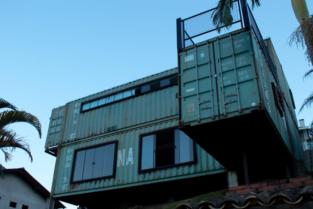 container with windows