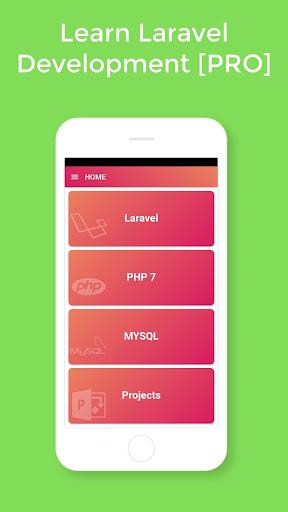 Learn Laravel [PRO] - Laravel Tutorials - Ads Free  screenshots 1