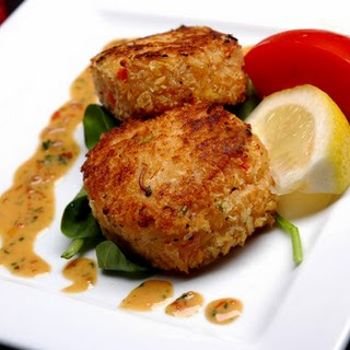 Asian-Style Crab Cakes.