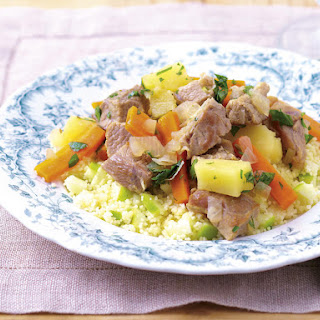 Pork Stew with Apple Couscous