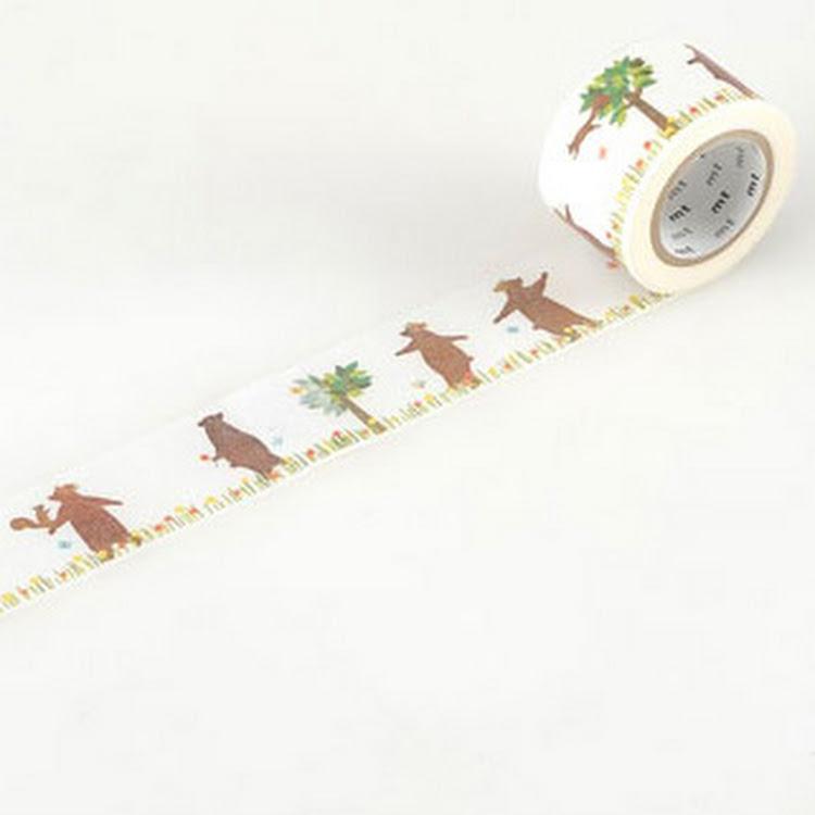 MT Bear by MT masking tape by Pipit Zakka Store