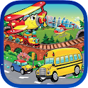 Vehicle Shapes Puzzle for Kids icon