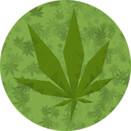 Marihuana LowPoly 3D Live Wall