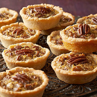 Mini Maple Pecan Pies.