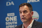 DA interim leader John Steenhuisen.