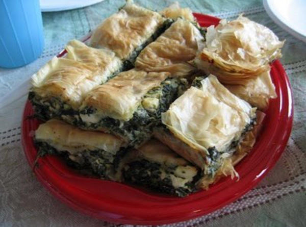 Greek Spinach, Cheese And Chickpea Pot Pie Recipe