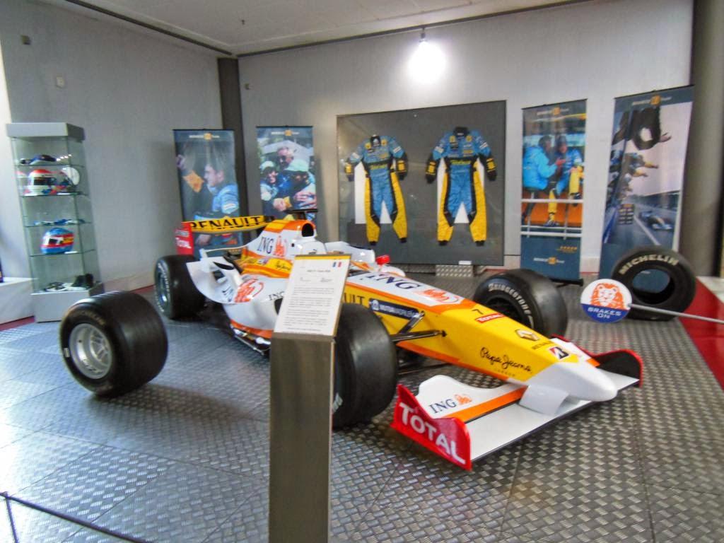 En el museo podremos ver un coche de F1