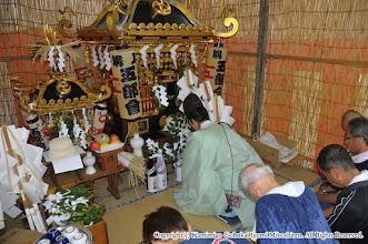 Photo: 【平成27年(2015) 宵々宮】 御霊入れの儀。祭禮の準備が整う。