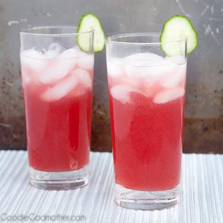 Cucumber Cape Codder Cocktail