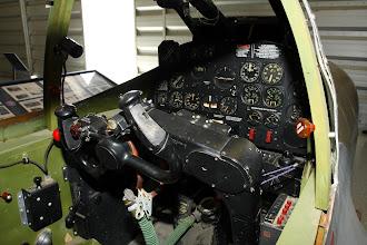 Photo: P-38J - kokpit (dřevěná maketa)