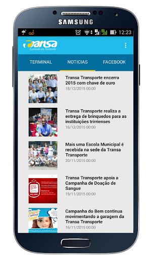 Transa Transporte screenshot 3