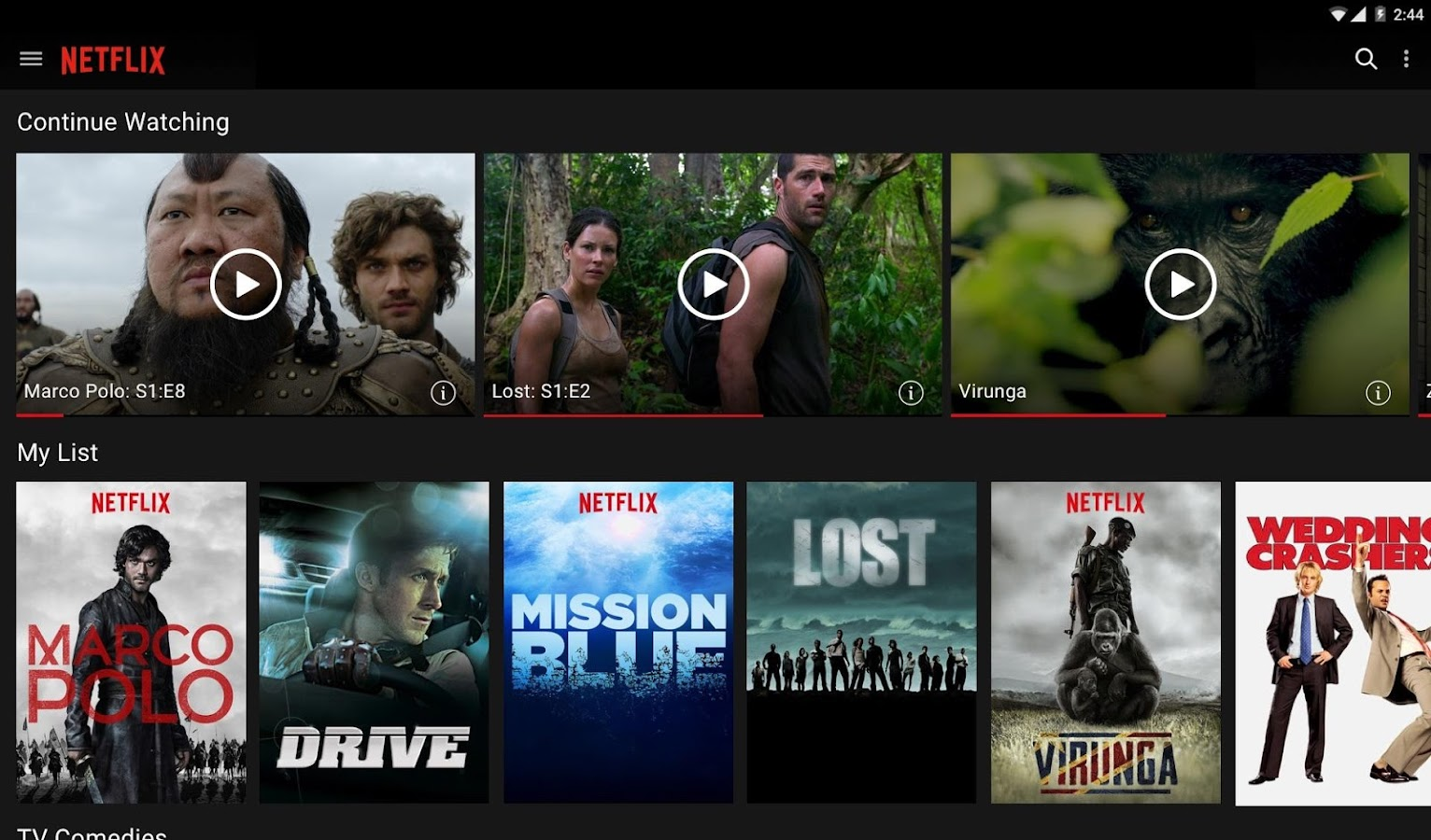 Netflix- screenshot