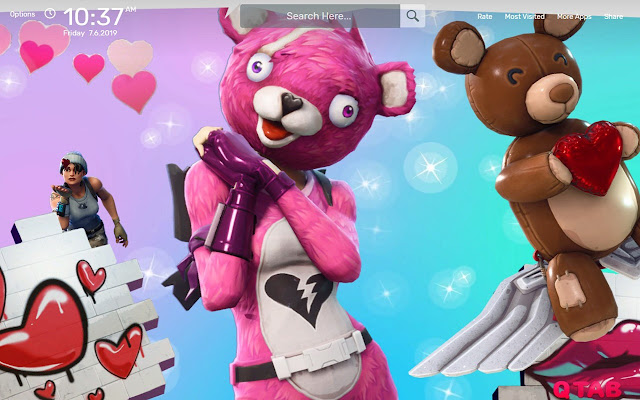 Cuddle Team Leader Fortnite Wallpapers Theme