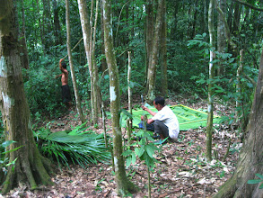 Photo: The guide andlocal guide prepare your deep camp-3 Days Nam Ha Jungle Camp in LuangNamtha, Laos