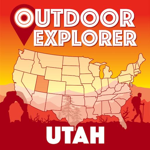 Outdoor Explorer Utah - Ultimate Travel Guide Map!