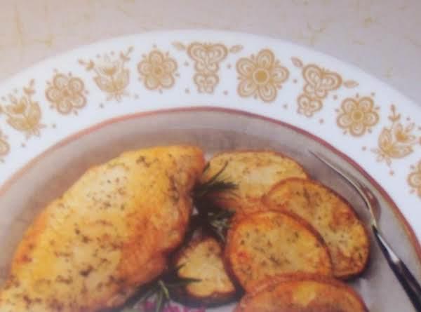 Chicken Breasts   Italian Vesuvio