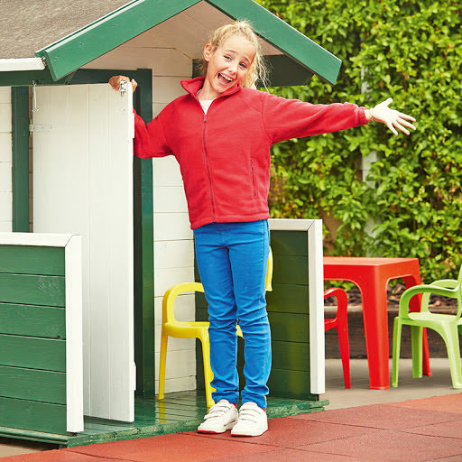 Fruit of the Loom Full-Zip Fleece for Kids
