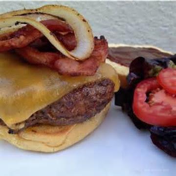 Bbq Bacon Cheeseburger W/chipotle Mayo Recipe