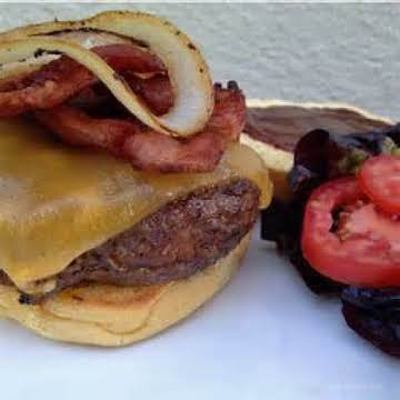 BBQ Bacon Cheeseburger w/Chipotle Mayo