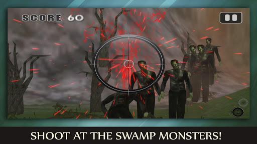 Swamp Monster Hunter FPS