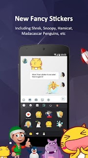 GO Keyboard Pro - Emoji, GIFs screenshot 04