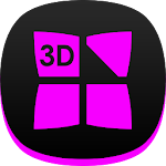 Next Launcher Theme Dafna P 3D Icon