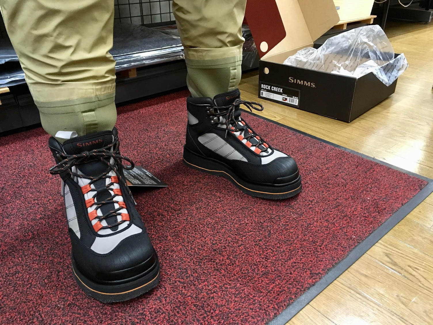 SIMMS® Rock Creek Wading Boots