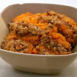 Crock Pot Sweet Potato Casserole with Apples.