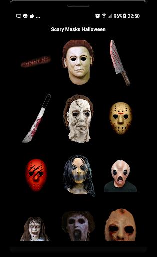 Scary Masks Photo Editor Halloween Horror image 5