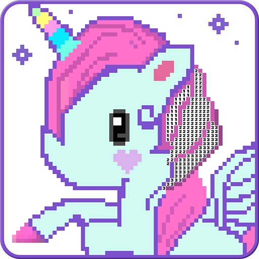 Unicorn Pixel Art Color By Number Aplicacións En Google Play