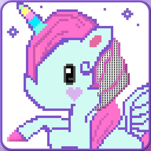 Unicorn Pixel Art Color By Number Aplicacións En Google Play