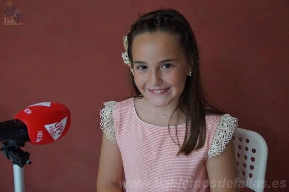 Entrevistas a Candidatas infantiles  a Cortes de Honor. Botànic - La Petxina. #Elecció19