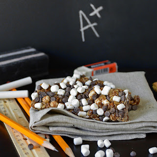 Homemade S'mores Granola Bars