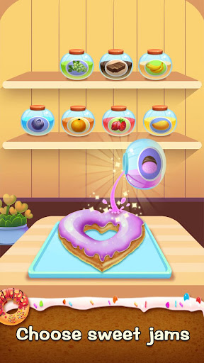 ud83cudf69ud83cudf69Make Donut - Interesting Cooking Game apkpoly screenshots 10