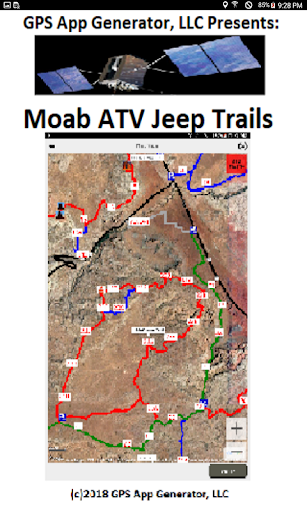 Moab ATV Jeep Trails screenshot 1