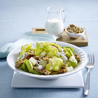 Spring Turkey, Celery Root and Walnut Salad