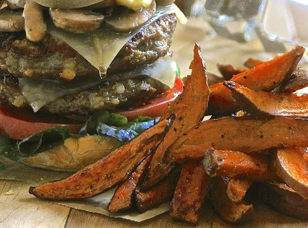 Brown Sugar & Spice Sweet Potato Fries Recipe