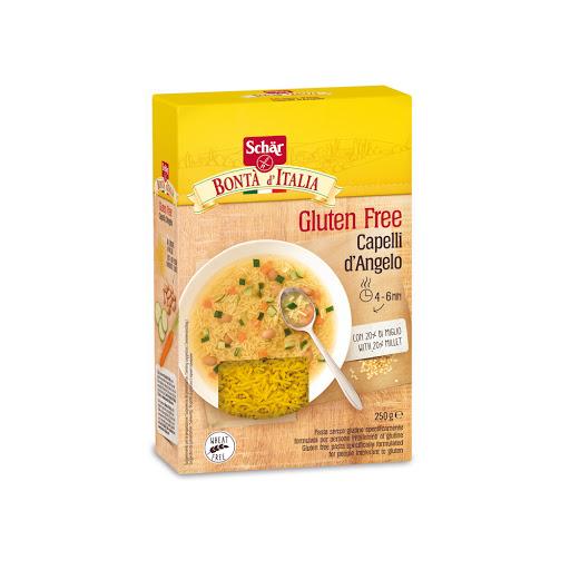 sin gluten pasta capelli schar 250gr