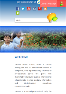 Treamis World School Mobile- screenshot thumbnail
