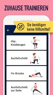 Gesäß & Bein-Training, Runder Po und straffe Beine Screenshot