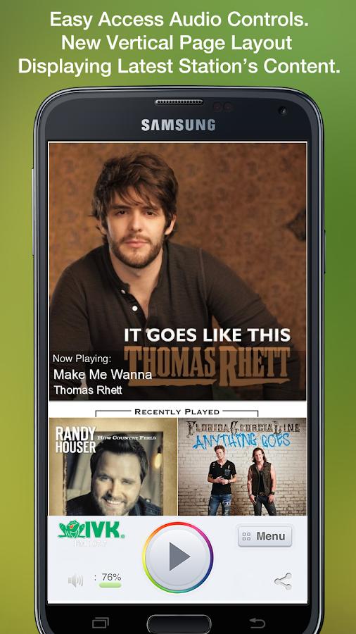 WIVK-FM - screenshot