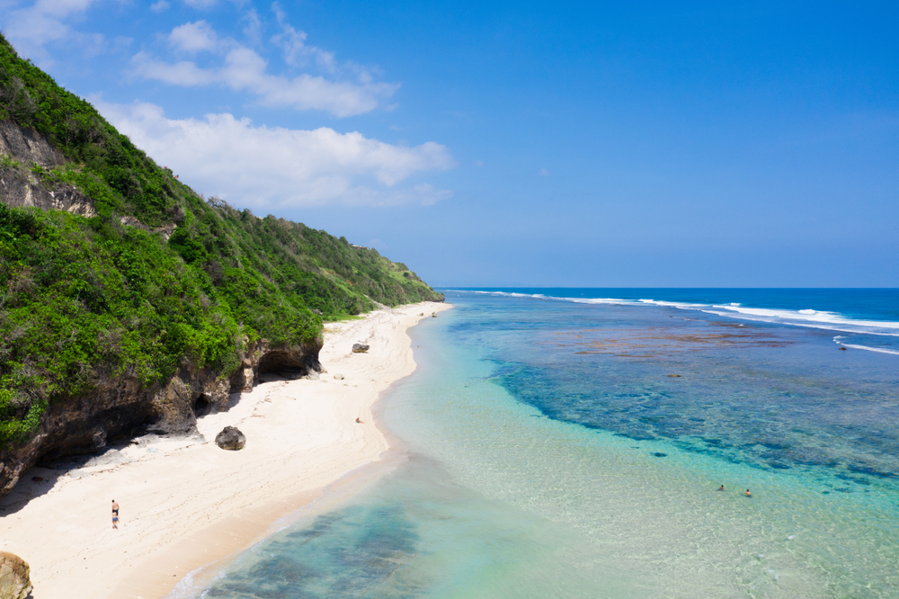 Pandawa Beach is a renowned beach in Kuta, Bali