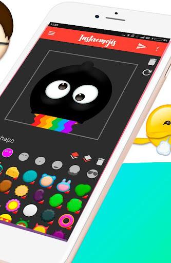 Emoji Maker - Create your Photo Emojis & Stickers 1.1.6.1 screenshots 2