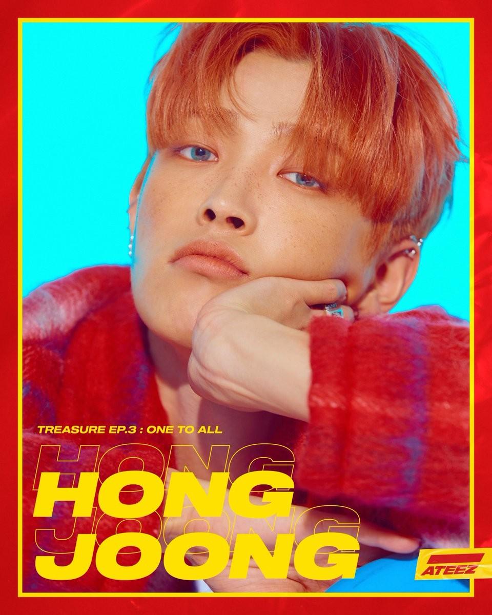 ateez hongjoong
