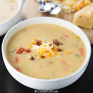 Spicy Wisconsin Cheese & Bacon Soup.